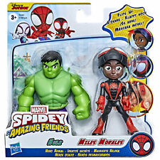 Marvel Spidey and His Amazing Friends Hero Reveal Hulk & Miles Morales