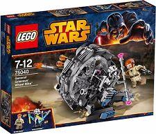 LEGO 75040 General Greivous Wheel bike & obi wan kenobi mini figure