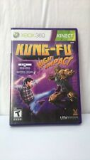 XBOX 360 KINECT KUNG-FU HIGH IMPACT VIDEO GAME - FREE SHIPPING