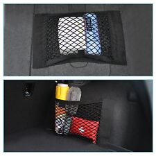 2 PCS Black Trunk Cargo Storage Mesh Luggage Bag Back Trunk Pocket  for Chrysler