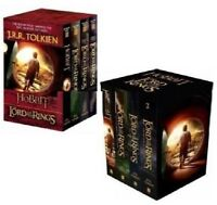 THE HOBBIT (2012) + LORD OF THE RINGS - Movie Tie-in Collector's BOOK SET New