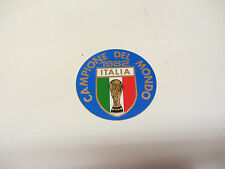 LAMBRETTA VESPA  ITALIA 82       ORIGINAL 80S FOOTBALL STICKER