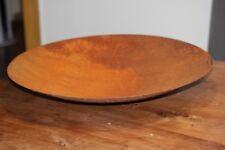 Edelrost♥ Durchmesser 40 cm H 10 cm♥Dekoschale Große Schale aus Metall