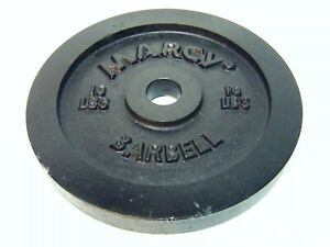 """Marcy 10lb 4.5KG 9""""dia 1""""Hole Barbell Plate/Weight"""