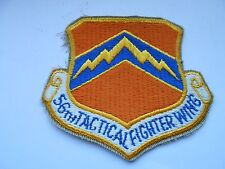 RAF/USAF squadron  cloth patch of the 56th tactical fighter wing  9cm x 8cm