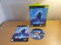 MICROSOFT XBOX ORIGINAL - THE THING - COMPLETE WITH MANUAL - FREE P&P
