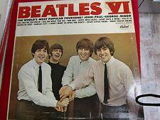 The Beatles VI Vinyl Capitol Records T-2358