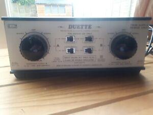 H & M Duette Dual Model Train Controller