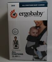 Ergobaby Carrier 360 All Carry Positions w/ Cool Air Mesh Carbon Grey Free S/H