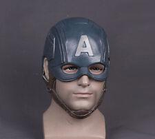 The Avengers Mask Captain America Mask Latex Steven Cosplay Halloween Mask Props