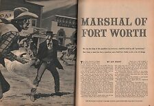 Marshal of Fort Worth, Texas Jim Courtright*, Governor Ireland*,Burns,Short*