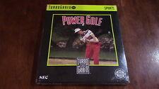 Power Golf NEC TurboGrafx 16 Video Game New in Box Sealed