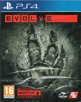 EVOLVE - First Person Shooter - GAME PS4 ~ NEW / SEALED