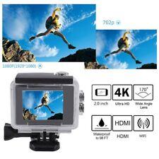 Ultra HD 4K WIFI Sports Action Camera Waterproof DV Camcorder 12MP HDMI Black BE