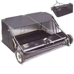 Kehrmaschine 120cm Rasenkehrer 55141 Rasenkehrmaschine Aufsitzmäher Rasentraktor