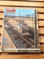 rare magazine la vie du rail 936 mars 1964 port compris: triage de juvisy