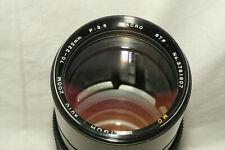 Soligor 70-222 mm 1:3.5 manual focus macro zoom for Canon FD mount with case