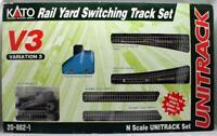 KATO 'N' GAUGE 20-862-1 V3 UNITRACK RAIL YARD SWITCHING TRACK SET