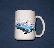 New 15 Oz. 1972 Chevy Nova mug