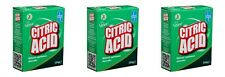 3 ACIDE CITRIQUE 250 g Naturel Nettoyant Cuisine Appareils anticalcaire Remover ...