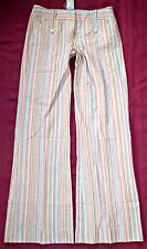 TOPSHOP Tall striped wide leg flare trousers UK 12 40s 50s rockabilly BNWT