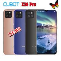 Cubot X20 Pro 4G Waterdrop 6+128GB Handy Android 9.0 Helio P60 Octa Core 4Kamera