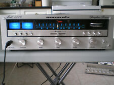 Vintage Marantz 2226 AM/FM Stereo Receiver, silver face very clean