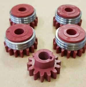 KEMPPI / BOC / NEXUS MIG WELDER WIRE FEED ROLLERS (SET OF 4 ROLLERS AND GEAR)