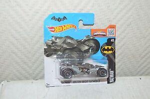 Car Hot Wheels Batman 2016 Arhham Knight Batmobile Car New N° 4/5