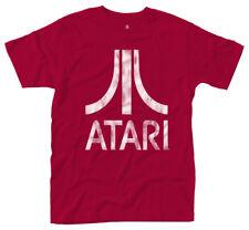 Hombre Atari logo rojo camiseta