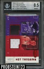 2002-03 Vince Carter Yao Ming RC Red Hot Tandems #8/10 BGS 8.5 NM+