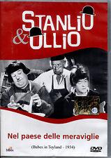 STANLIO & OLLIO: NEL PAESE DELLE MERAVIGLIE - DVD NUOVO E SIGILLATO, NO EDICOLA