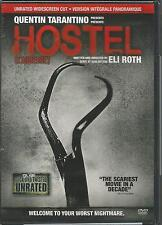 Hostel Unrated WS Cut DVD NEW Canadian Version (French & English) L'auberge