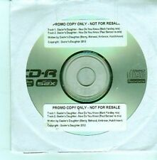 (DA5) Gaoler's Daughter, How Do You Know - 2012 DJ CD