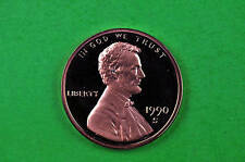 1990-S  Deep Cameo Lincoln Penny US GEM  Proof  Coin
