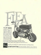 Vintage 1960's Mini-bike Bug Flea 7.5 Yamaha Ad