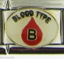 BLOOD TYPE B  WHOLESALE ITALIAN CHARM 9MM K21