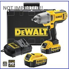DeWalt 18V XR Li-Ion Cordles High Torque Impact Wrench Kit DCF889 4.0ah Set