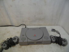 VTG 1998 Sony Play Station One SPCH-5501 Game Console W/ 2 Controllers SPCH-1010