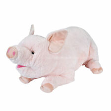 Giant Jumbo Stuffed Animal Pink Pig Plush Toy Wild Republic Length 30inches