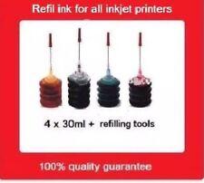 Refill kits for HP 61XL BK & HP61XL Color Cartridges Deskjet 1010/2540 Envy5530