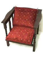 """Vintage Mahogany Convertible Chair-Table by The """"Fireside Chair-Table""""  [6766]"""