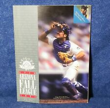 MICHAEL JORDAN Arizona Fall League pgm + roster pages 1994 DEREK JETER Mk Piazza