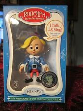 Talking/Singing Rudolph The Red Nosed Reindeer Hermey Ornament
