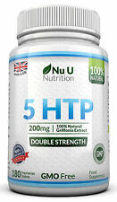 5HTP 200mg 180 Tablets  by NU U UK Manufactured 100% Money Back Guarantee