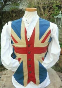 Classic Union Jack cotton waistcoat  - ideal for any national celebration