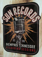 "Blues ""Sun Records micro"" mephis sticker Rock 'n' roll rockabilly decal EE. UU."