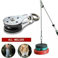 Mute Silent Bearing Pulley Load For Lifting Workout Fitness Home Parts D0L3