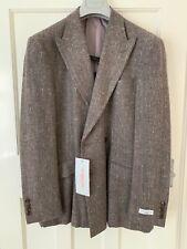 Richard James Double Breasted Blazer Silk / Cashmere