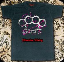 Darkside CLOTHING MEN'S Rose Knuckle Duster black t-shirt à manches courtes XS